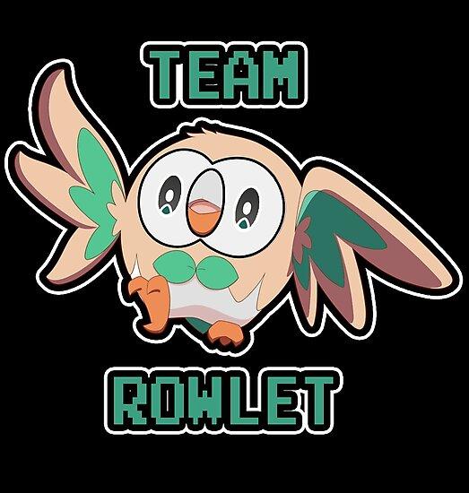 Team Rowlet by Nasha Bulgakova