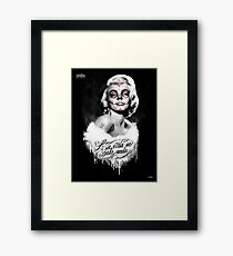 Marilyn Muerte Gerahmter Kunstdruck