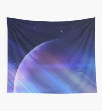 Secrets of the galaxy Wall Tapestry