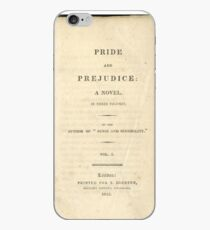 Pride and Prejudice 1813 iPhone Case