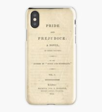 Pride and Prejudice 1813 iPhone Case/Skin