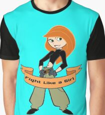 Kim Possible - Fight Like a Girl Graphic T-Shirt