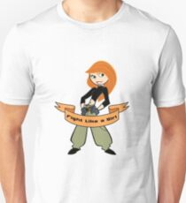 Kim Possible - Fight Like a Girl Unisex T-Shirt