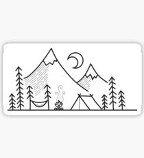 Camping Life Sticker