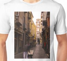 Working in the Sorrento laneways Unisex T-Shirt