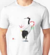 Red-crowned Crane Unisex T-Shirt
