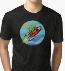 Space Tardigrade: Intrepid Explorer Tri-blend T-Shirt