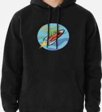 Space Tardigrade: Intrepid Explorer Pullover Hoodie