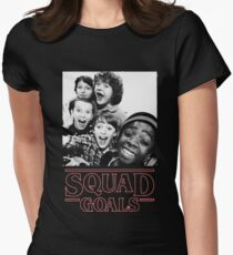 Stranger Things Squad Goals Women's Fitted T-Shirt