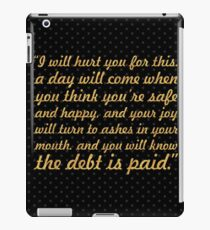 """I will hurt... """"Tyrion Lannister"""" (Square) iPad Case/Skin"""