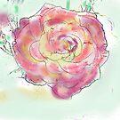 PINK PETAL WALL ART by Shoshonan