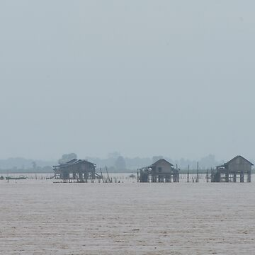 Fog on the Irrawaddy 1 by fotoWerner