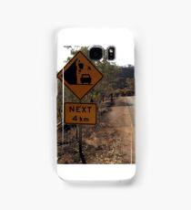 Beware of falling kangaroos Samsung Galaxy Case/Skin
