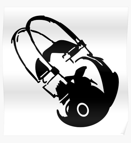 Headphones VRS2 Poster