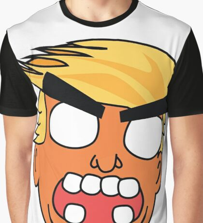 angry zombie trump Graphic T-Shirt
