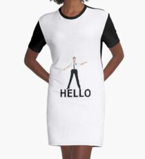 Hello- Book Of Mormon Graphic T-Shirt Dress