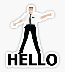 Hello- Book Of Mormon Sticker