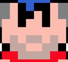 Pixel King Graham Sticker