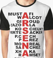 word arsenal 1 Graphic T-Shirt