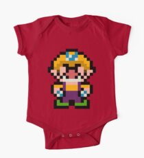 Pixel Wario One Piece - Short Sleeve
