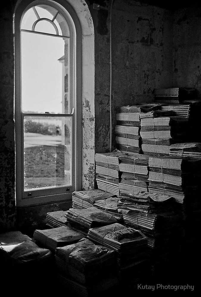Too many papers to read... by Kutay Photography