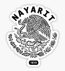 Nayarit Mexico 1810 T Shirt Sticker