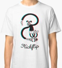 Old School Kickflip Classic T-Shirt