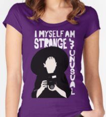 Strange and Unusual Women's Fitted Scoop T-Shirt