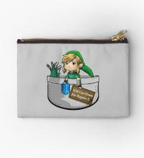 "Zelda ""Will Cut Grass For Rupees"" Studio Pouch"