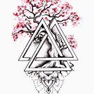 Bonsai Triforce von Emilie Desaunay