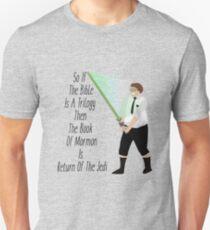 Elder Cunningham The Jedi- Book Of Mormon T-Shirt