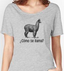 Cómo se llama? Women's Relaxed Fit T-Shirt