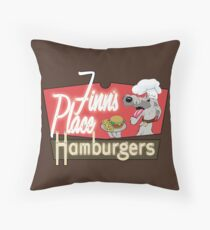 Finn's Place Throw Pillow
