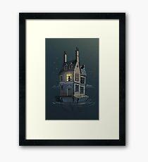 English House Framed Print