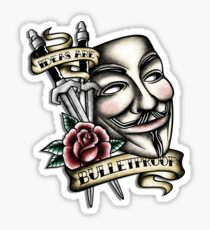 Old School Vendetta Sticker