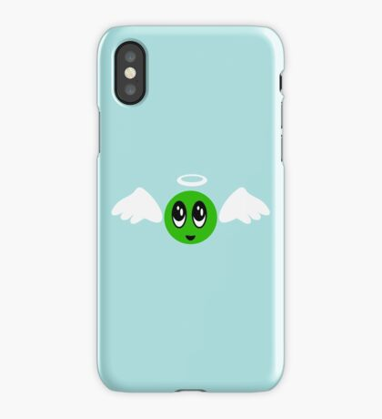 Angel Smiley (green) VRS2 iPhone Case