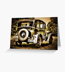 1930 Ford Model A Greeting Card