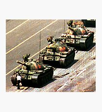 Tank Man Photographic Print