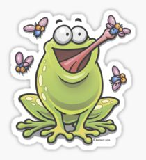 Hungry Frog Sticker