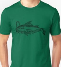 Whale fish - Medieval Bestiary T-Shirt