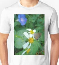 Banded Hairstreak in Spanish Needles Unisex T-Shirt