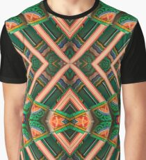 Korean Pagoda multicolored abstract 2 Graphic T-Shirt