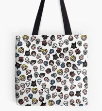 The Binding of Isaac characters pattern Tote Bag
