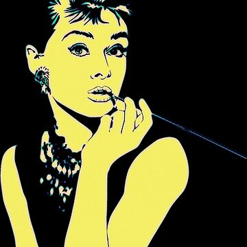 Pop Art Audrey by FlorianRodarte