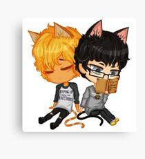 Kitty Chibi Canvas Print