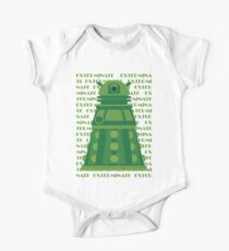 Exterminate Green Kids Clothes
