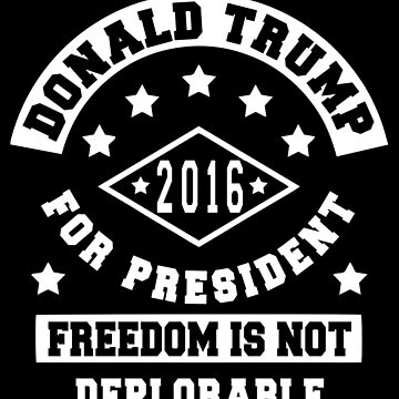 Donald Trump For President by The-Tee-King