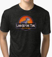 The Land Before Time - Jurassic Park Tri-blend T-Shirt