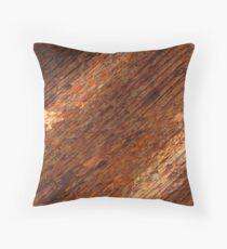 Dark Copper  Throw Pillow