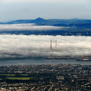 Fog Over Dublin by hoganartgarage